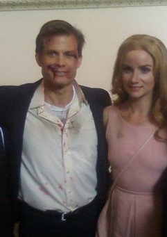 Capser Van Dien and Victoria Summer